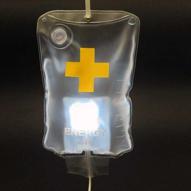 「点滴型LEDランプ」の写真2