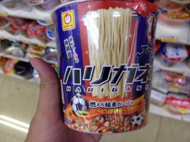 日本一カップラーメンの種類が多いコンビニの店内の写真5