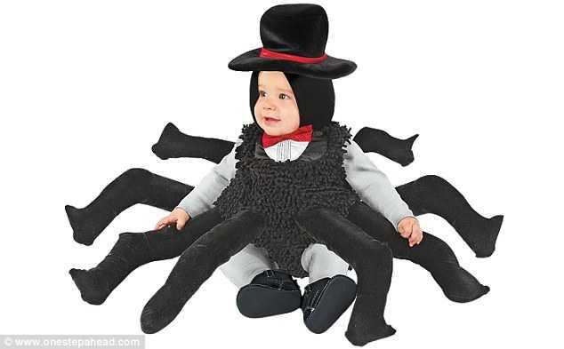 蜘蛛の衣装