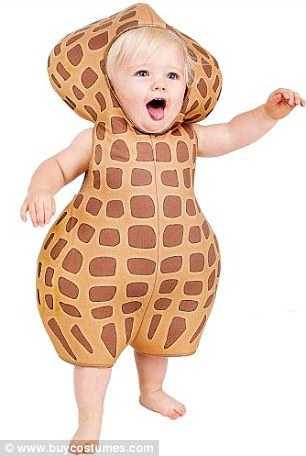 ピーナッツの衣装
