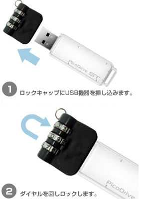 「USBロックキャップ」 GH-USB-LOCKSの説明図1