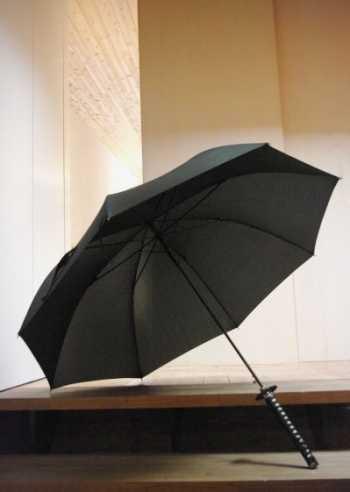 刀型の傘イメージ図1