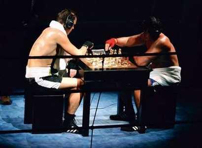 チェス→ボクシングを交互に行う究極のスポーツ「チェスボクシング」が凄いwww