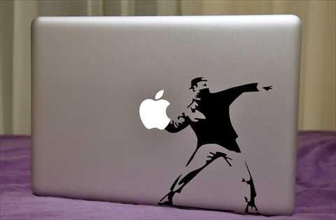 遊び心満載!MacBook用デカール11種