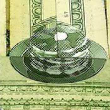 「5ドル紙幣上にパンケーキが隠れていた」とTwitterで話題
