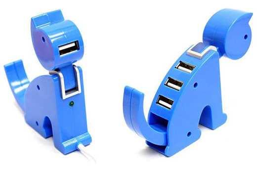 思わず挿してあげたくなる哀しそうなUSBハブ「 Kitty USB hub」