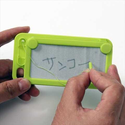 """""""この発想は無かった""""タッチパネルの存在に真っ向勝負する機能を持ったiPhoneケース"""