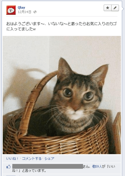 【Facebook】エッジランクを上げる為に色々やってみました。