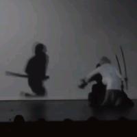 【動画】まるでゲームのような世界観、影と戦う舞台「龍と牡丹」-剣舞が凄い
