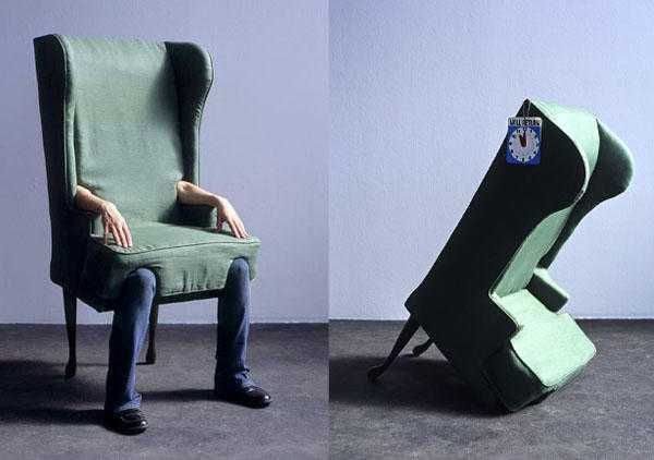 Jamie Isensteinの「リアル人間椅子」2
