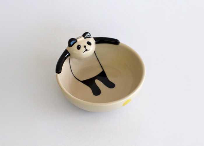 パンダが「ぷはぁ~いい湯だなぁ~」ってなってる食器がカワイイ!