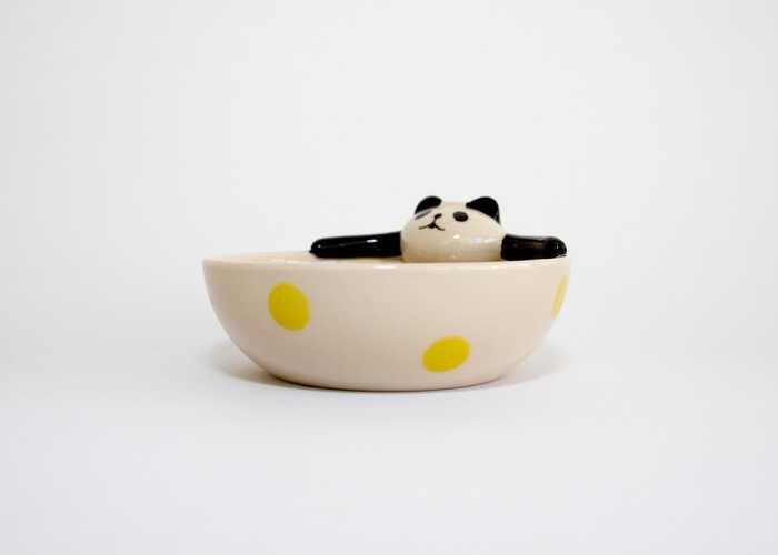 PANDA BATH BOWL