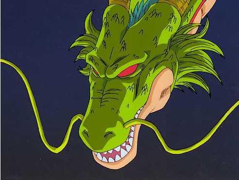 ドラゴンボールの神龍の画像