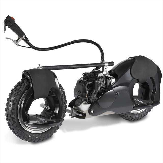 近未来っぽいスタンドバイク「Motorized Wheelrider」がカッコイイ!!