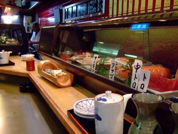 回らないお寿司屋さんでのマナー