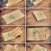 【簡単】「A4の紙一枚でCDジャケを作る方法」がTwitterで話題