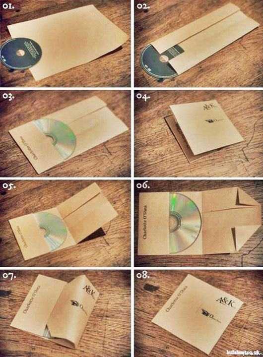 A4の紙一枚でCDジャケを作る方法