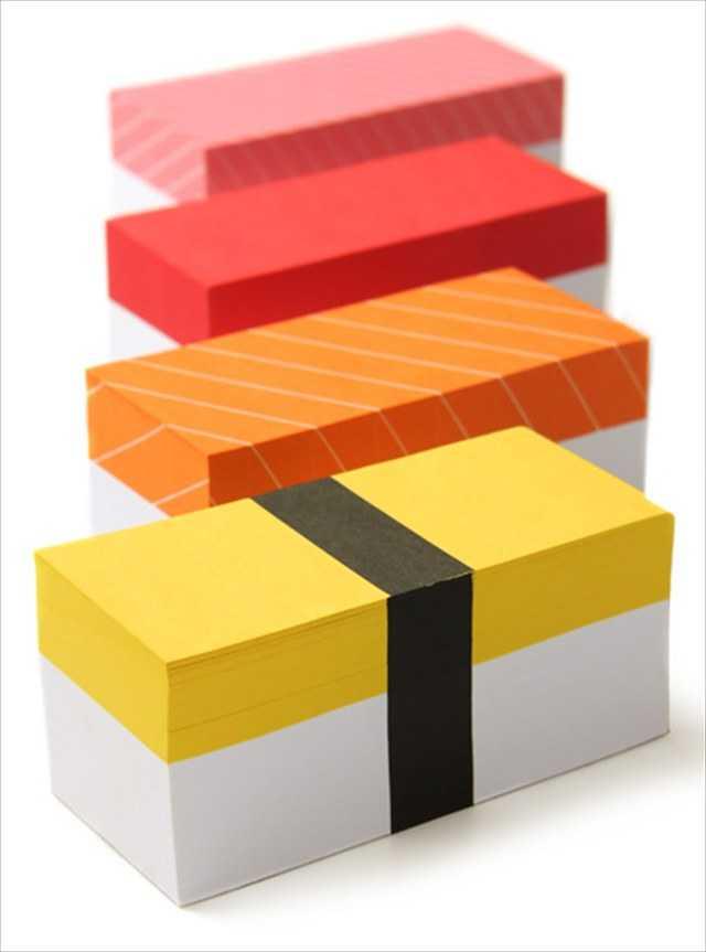 【雑貨】寿司っぽいメモ帳「Sushi Memo Block」がカワイイ