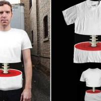 「輪切りにされたように見えるTシャツ」が凄い