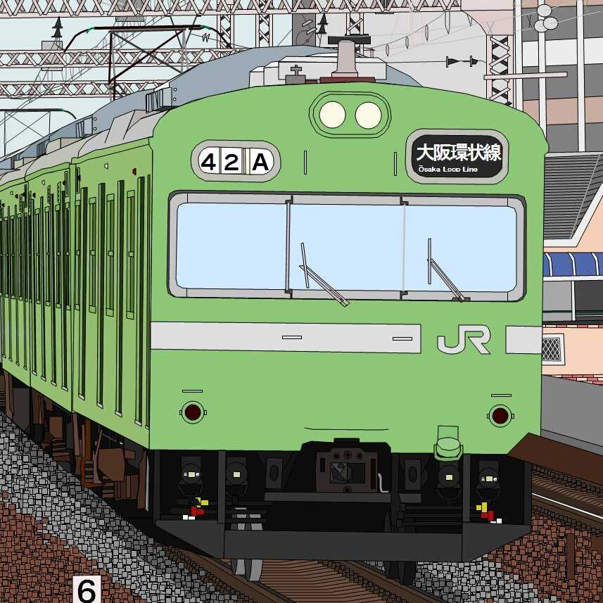 これはSUGEEEEE!!Execelだけで描いた電車の絵が凄すぎるw