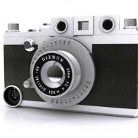 【ガジェット】iPhoneが本格クラシックカメラに早変わり!?「GIZMON iCA」
