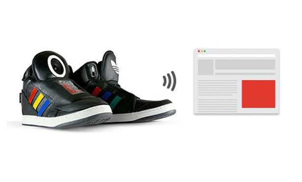 【Google】人間の行動を学習してしゃべる靴「Talking Shoe」