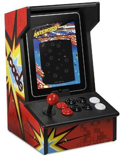 iPadをレトロアーケードゲーム機のような見た目にしちゃう拡張コントローラー