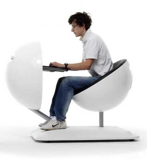 【まるでアニメ】近未来的なパソコン机「Globus Computer Work Station」5