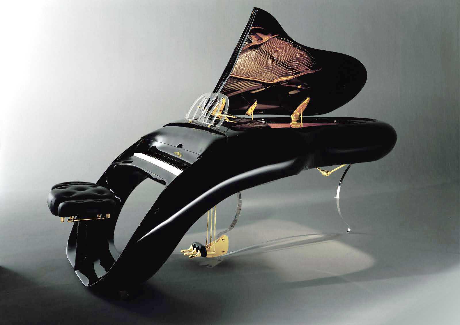 【画像】美しすぎるグランドピアノ「PEGASUS」が凄い