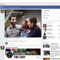 【Facebook】新しいデザインのニュースフィードの受付を開始
