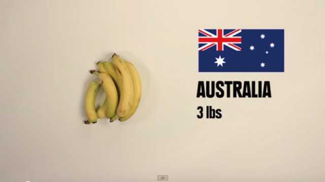 【動画】世界の国別「5ドルでどれだけ食べ物が買えるかな?」
