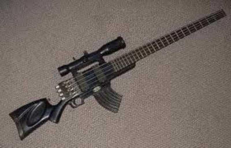 スナイパーライフル型ギター