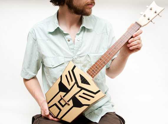 トランスフォーマー型ギター