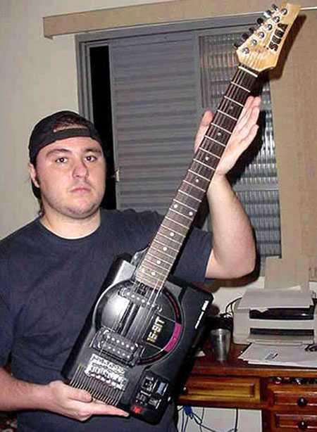 メガドライブ型ギター