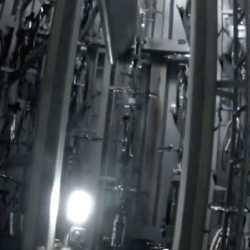 【7億円の威力】品川駅のハイテク自転車置場の内部を自転車につけたカメラで撮影した動画