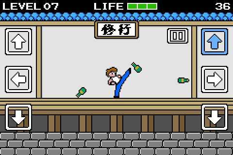 ファミコン世代にはたまらない8bit感あふれるカンフーゲーム「Kungfu-Rush」