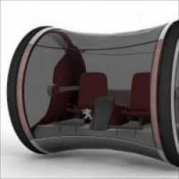 【近未来】車輪の中が運転席、水素で駆動する車「Ozone」が凄い