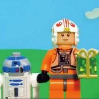 ルークとダースベイダーが超仲良し!LEGOが作成した「父の日」用動画