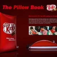やたら休憩を推奨するKitKatが考えた「枕になるノート」