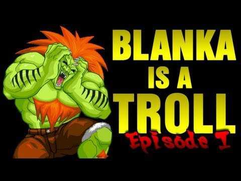 【動画】ハプニング映像にストⅡのブランカを合成した動画「Blanka is a Troll」