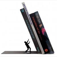 「ほ、本がー!!」ジ・エンドな展開のブックエンド「The End Bookend」