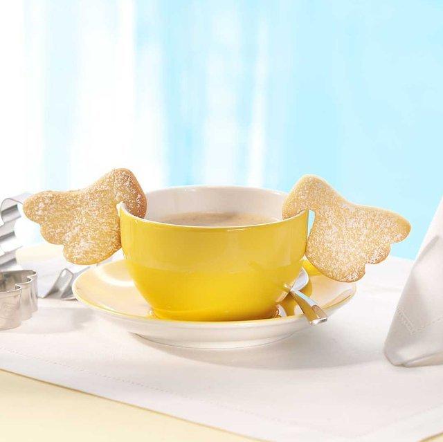 これは可愛い!天使の羽根型クッキーが作れる型抜き「Angel Wings Cookie Cutters」