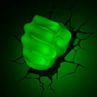 壁に刺さっているように見えるライト「3D Wall Art」─4種類─