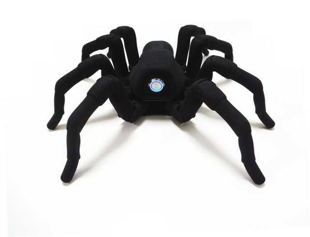 3Dプリンターで作った蜘蛛型ロボットがリアル過ぎてキモ凄い!!