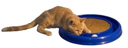 思わず永久ループしちゃう猫用の玩具「ターボスクラッチャー」