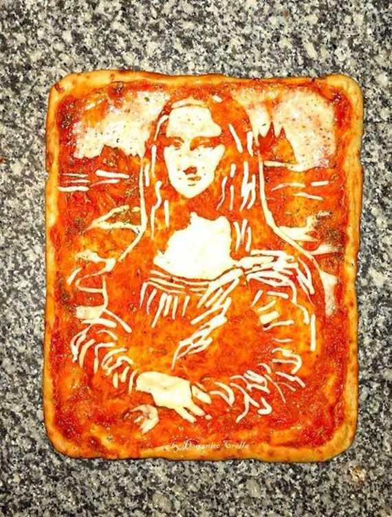 海外で今、カフェラテアートならぬ「ピザアート」が熱い!!