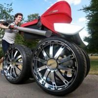 チェコの自動車メーカーが作った超ヘビー級のベビーカー「vRS Mega Man-Pram」が凄い!