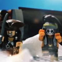【動画】全部LEGO!「ローン・レンジャーvsパイレーツ・オブ・カビリアン」のストップモーションムービー