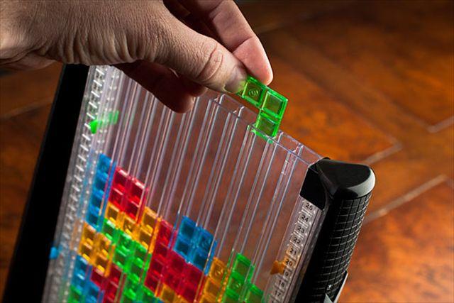 アナログでブロックを落とすテトリス「Tetris Link」