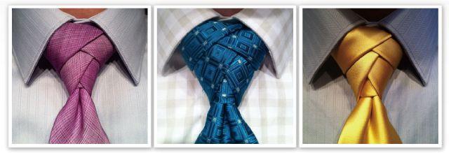 【図解】お洒落なネクタイの結び方「eldredge tie knot(エルドリッジ・ノット)」